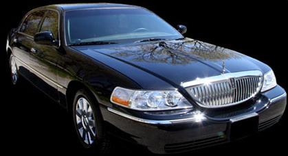 Black Lincoln Town Car Orlando Sedan Service